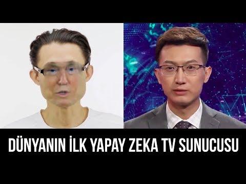 The World's First AI TV Presenter
