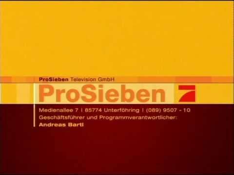 ProSieben Impressum - YouTube