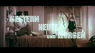 Gestern, heute und morgen (deutscher Trailer)