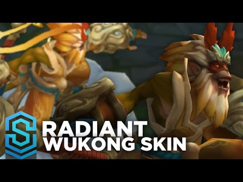 Radiant Wukong Skin Spotlight - Pre-Release - League of Legends