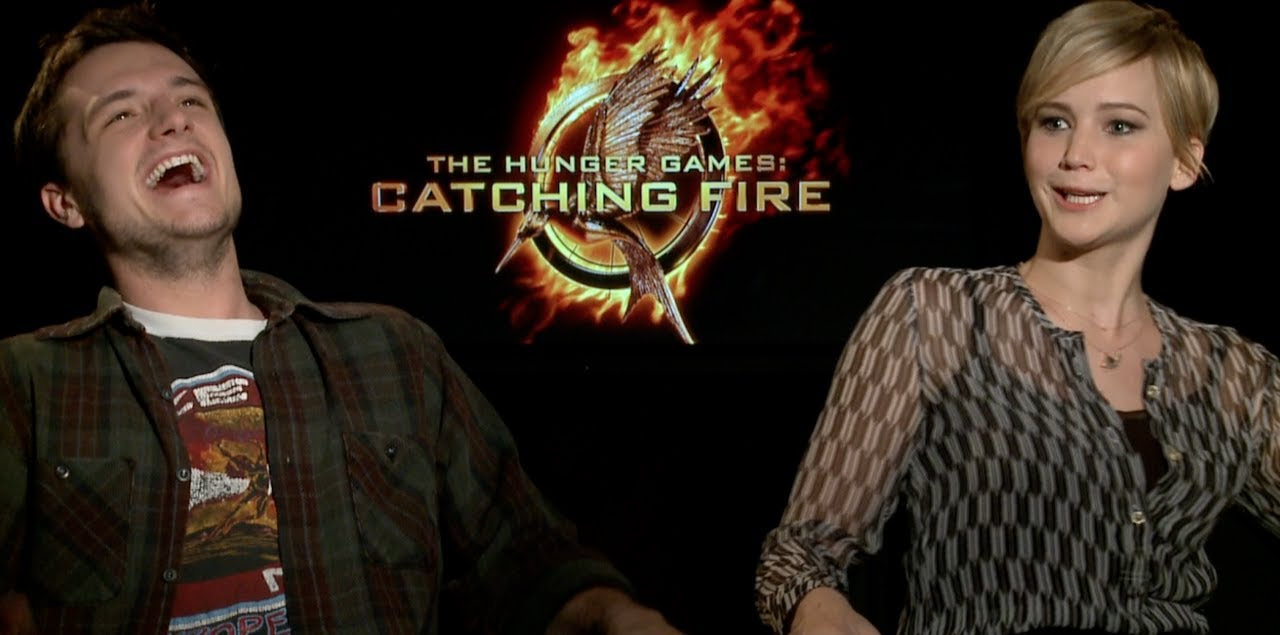 Hunger Games Catching Fire Interviews Lawrence Hutcherson