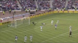 Rangers 3 - Celtic 2 - Scottish Cup Final 2002