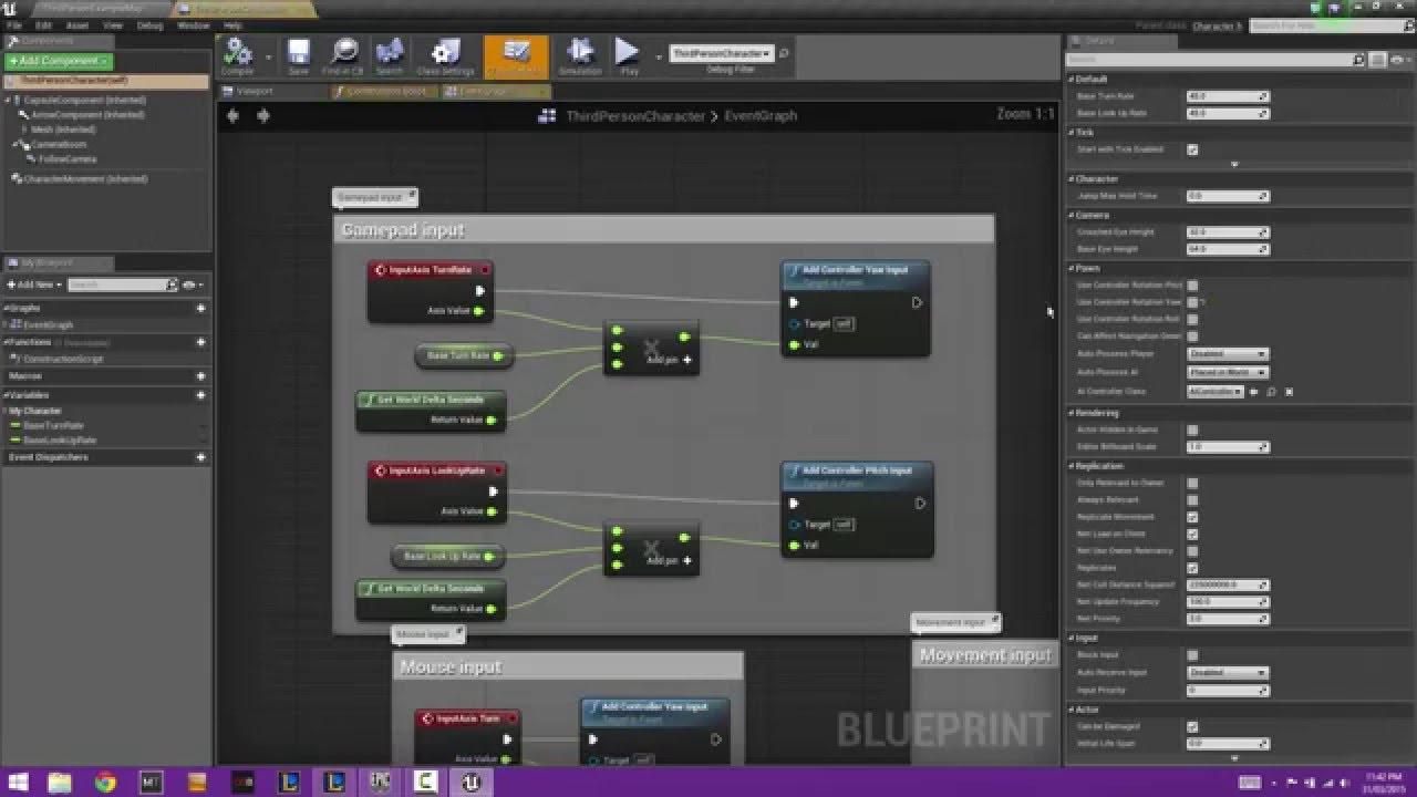 Unreal Engine 4 - Creating a Health Bar and Health Regen