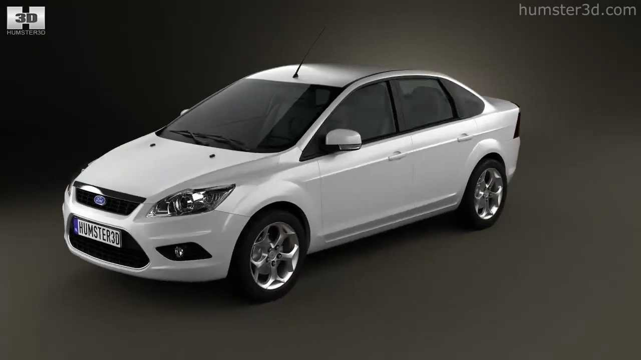 Ford focus sedan 2008 by 3d model store humster3d com youtube