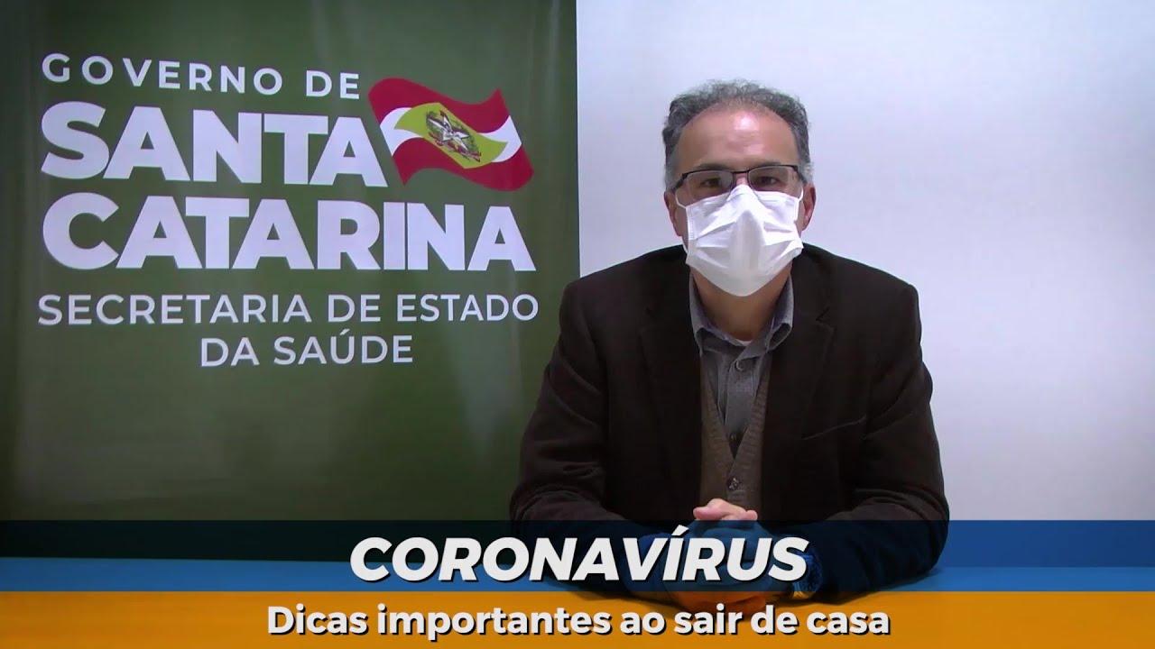 Coronavírus | Dicas importantes ao sair de casa