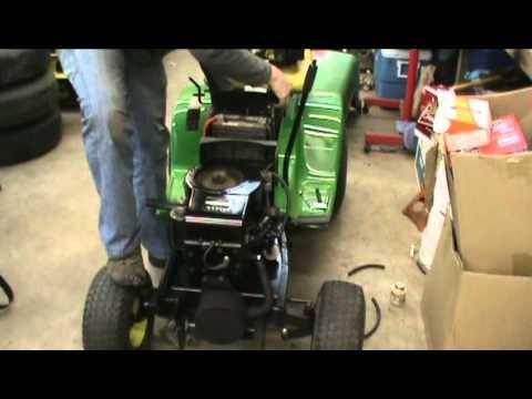 1st Start Of The Rebuilt Motor In John Deere 111