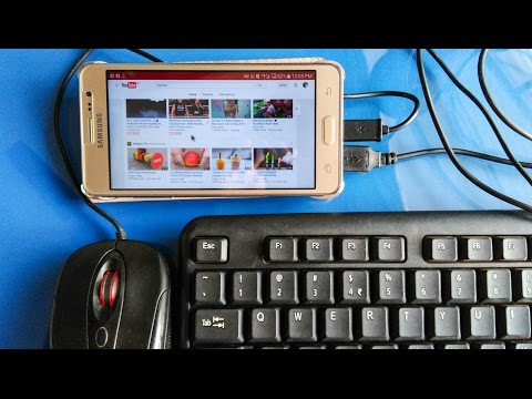 How To Use Mouse And Keyboard On Mobile | Play Game, Desktop Site On Android Use OTG Cable