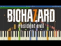 IMPOSSIBLE REMIX - Resident Evil 7 : Biohazard Theme - Go Tell Aunt Rhody - Piano Cover