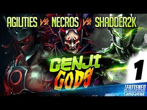 Shadder2k vs Agilities vs Necros - GENJI GODS MONTAGE #1