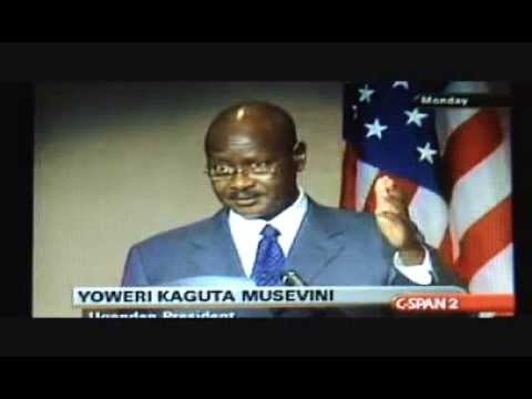 Ugandan President REBUKES Barack Obama (VIDEO)