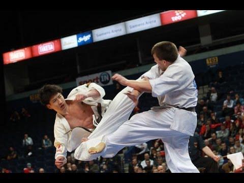 【新極真会】The 5th Karate World Cup MEN LIGHT WEIGHT FINAL  MAEDA vs. MOISSEYEV