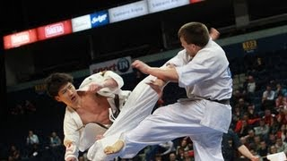 【新極真会】The 5th Karate World Cup MEN LIGHT WEIGHT FINAL  MAEDA vs. MOISSEYEV