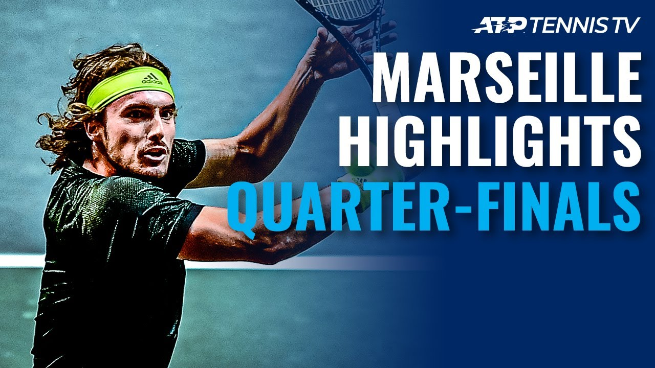 Medvedev Faces Sinner; Tsitsipas Eyes Semi-Final Spot | Marseille 2021 Quarter-Final Highlights