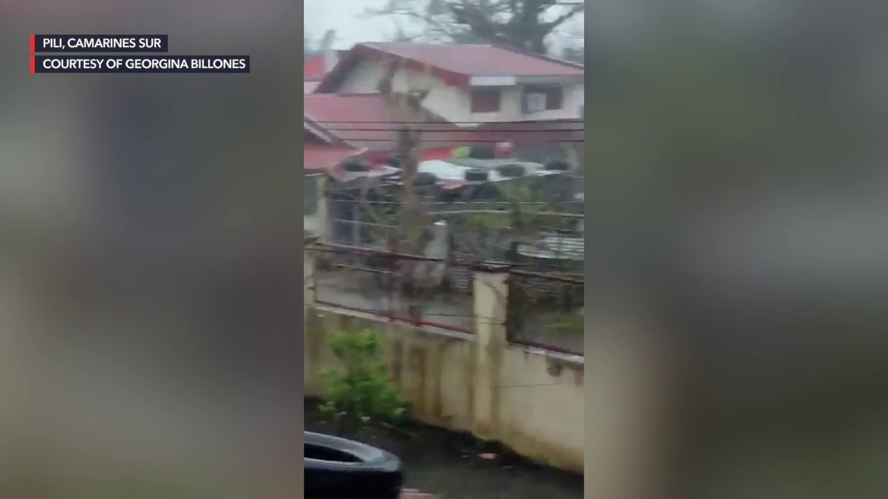 WATCH: After Super Typhoon Rolly, parts of Bicol flooded again due to Typhoon Ulysses - Rappler
