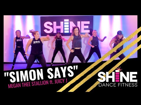 """Simon Says"" by Megan Thee Stallion ft. Juicy J || SHiNE DANCE FITNESS™"