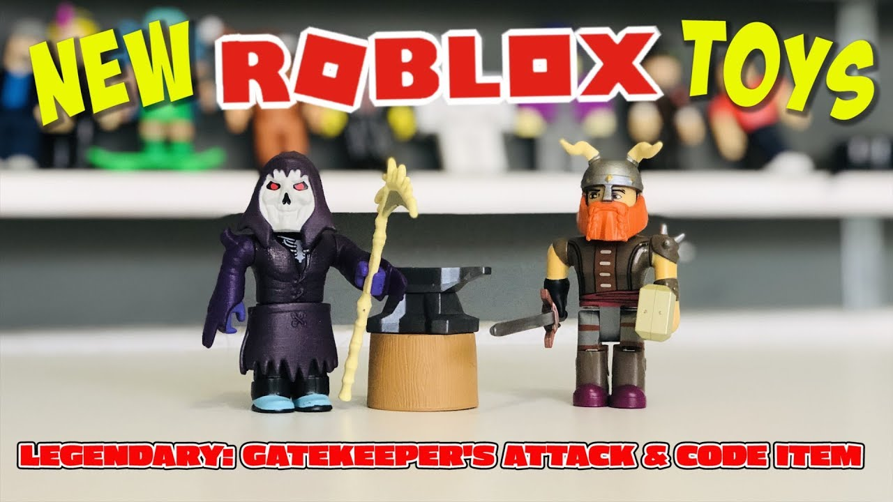 New Robloxtoys Legendary Gatekeeper S Attack Game Pack Review