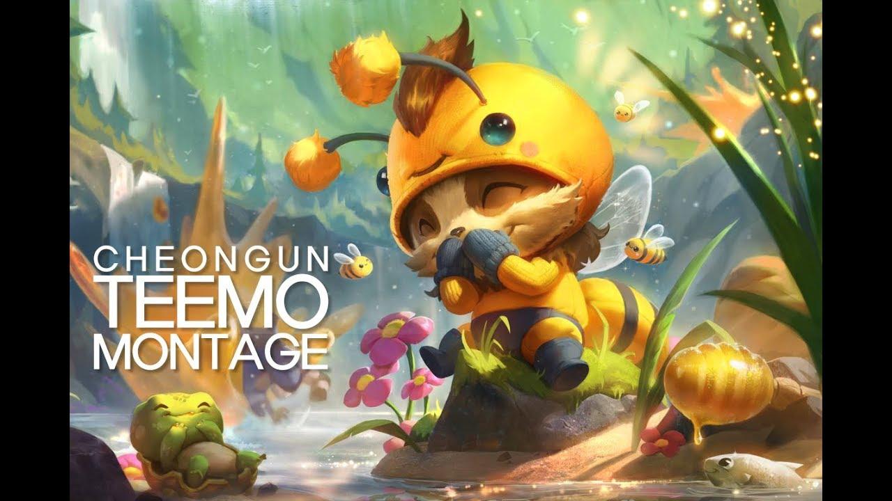 CheongUn Teemo Montage l High Elo Teemo Montage