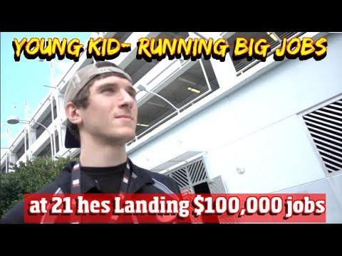 At 21 He's Landing $100,000 Landscaping Job After Landscaping Job