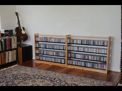DIY CD Rack - YouTube