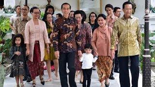 Ajak Cucu, Presiden Jokowi Silaturahmi ke Keraton Yogyakarta