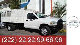 camionetas en venta en puebla -  2008 DODGE RAM 4000 TURBO DIESEL