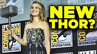THOR LOVE AND THUNDER Revealed! Jane Foster Return Explained!