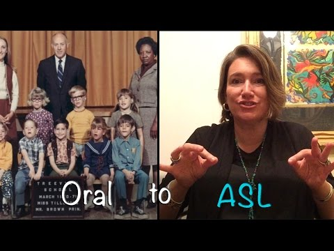 A Deaf Woman's Journey From Oralism to ASL -- See Her Success Today