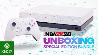 Unboxing the Xbox One X NBA 2K20 Special Edition Bundle