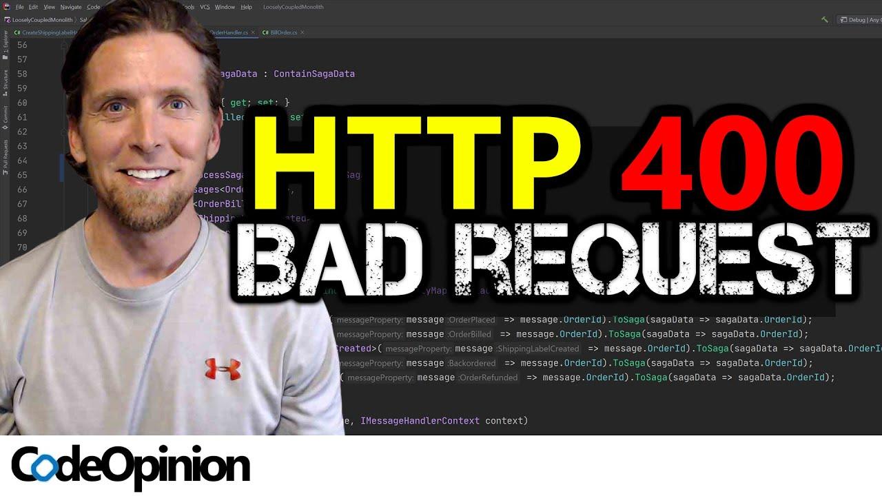 BEYOND Status Codes! Better REST HTTP API Error Responses