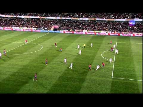 David Villa's record breaking goal vs Czech Republic (HD 720p)