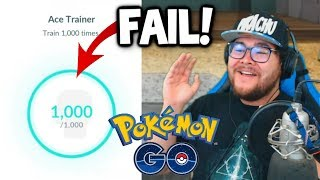 How *PVP* TROLLED ME my GOLD Ace Trainer Badge in Pokémon GO!