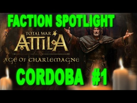 Total War: Attila - Age of Charlemagne - Emirate of Cordoba #1 - Faction Reveal