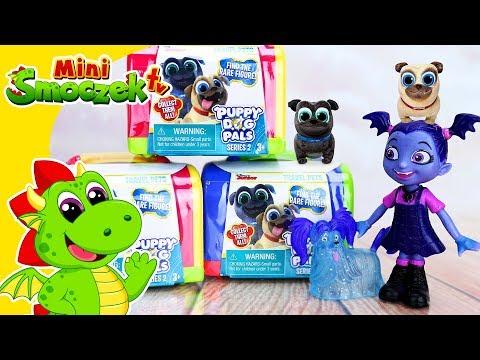 Disney Wampirina i Bingo i Rolly. Jajka Niespodzianki Zabawki Bajki Dla Dzieci Po Polsku