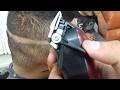 Tutorial del barberia como hacer un fade y como usar la navaja de afeitar