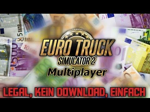 Geld einfach, ohne Cheat und legal in ETS 2 Multiplayer bekommen   ETS 2 MP Tutorial [DE] Paddl