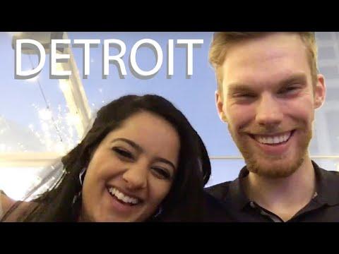 Exploring Detroit   Campus Martius Park During The Holidays