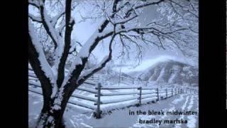 In the Bleak Midwinter - solo piano - Bradley Mariska - Christmas music