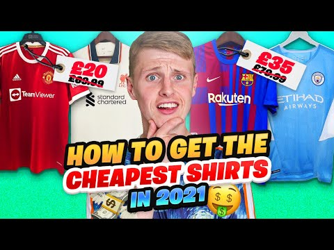 How to Get The CHEAPEST Football Shirts In 2021!