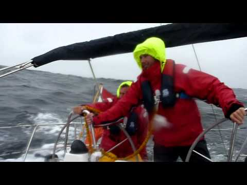 English Channel and Bay of Biscay (35 knots) sailing