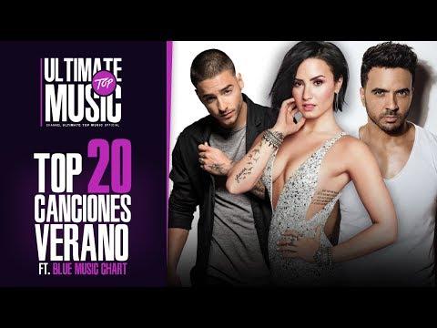 TOP 20 Canciones VERANO 2017, Ft. Blue Music Chart