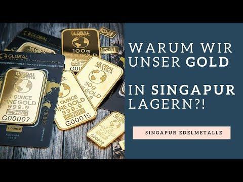 Warum Singapur Der Beste Standort Für Edelmetalle Ist?! - Flaggentheorie Gold & Silber