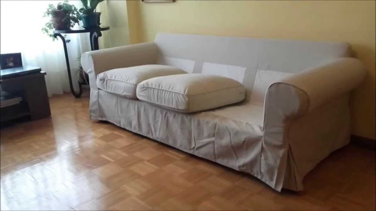 ikea ektorp couch assembly youtube. Black Bedroom Furniture Sets. Home Design Ideas
