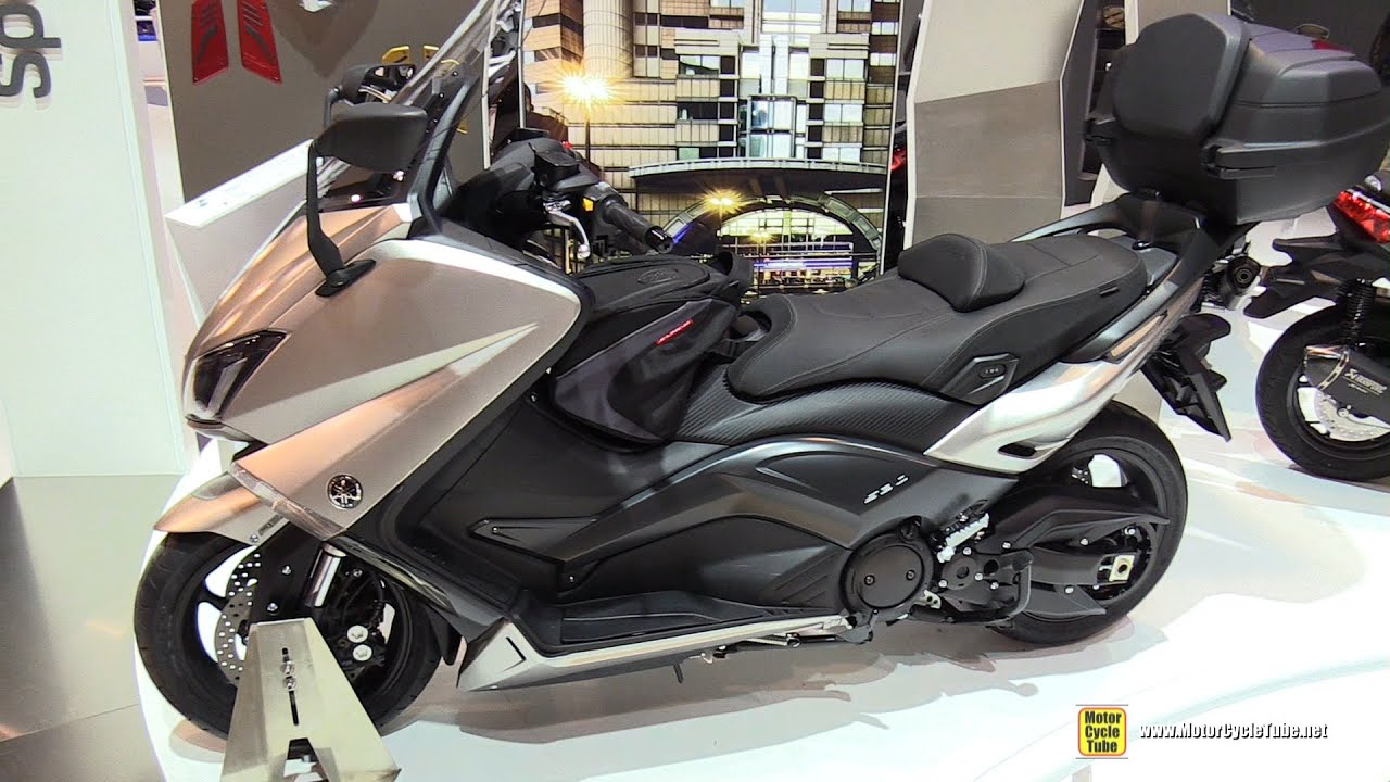 2016 yamaha tmax 530 scooter walkaround 2015 eicma. Black Bedroom Furniture Sets. Home Design Ideas