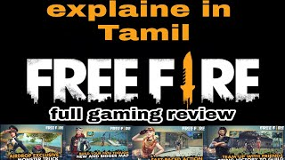 FREE FIRE (Tamil) Full Gaming review, GamePlay,link on description!