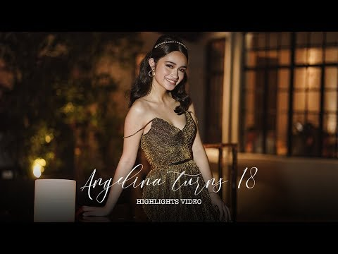 Angelina Cruz Turns 18 | Highlights Video By Nice Print Photography