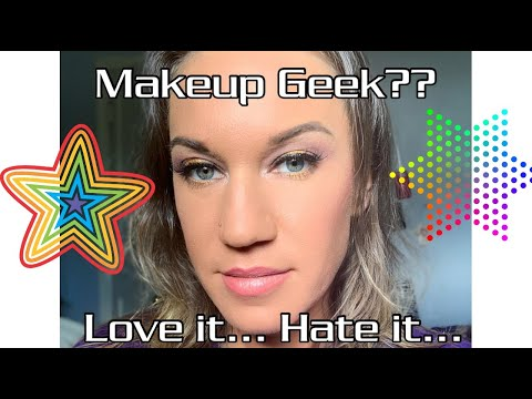 Makeup Geek REVIEW| Eye Makeup Tutorial| First-time trying! thumbnail