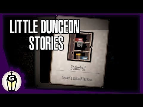 Reading Kills | Let's Play Little Dungeon Stories Beta Gameplay |