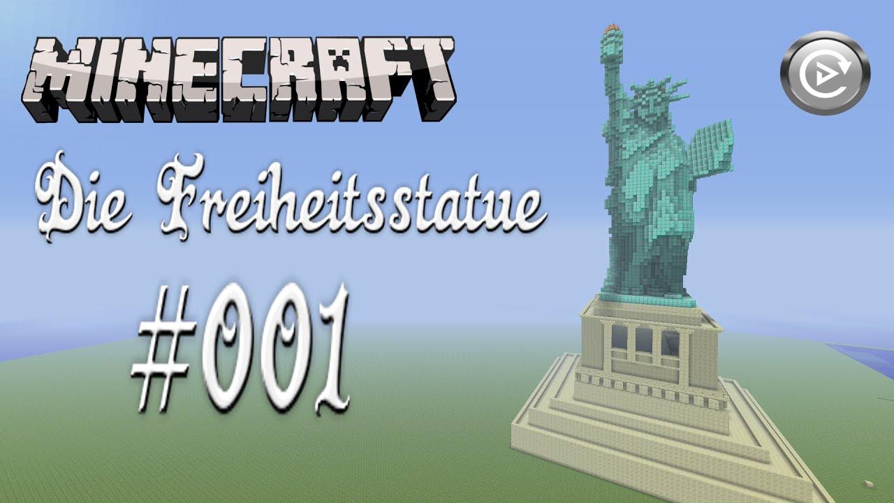 Minecraft Wir bauen die Freiheitsstatue #001*[HD] Der Neuanfang ...