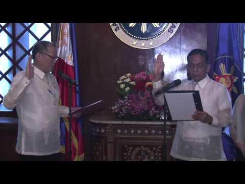Oathtaking of Sec. Arsenio Balisacan 1/27/2016