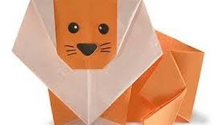 Origami Lion Tutorial